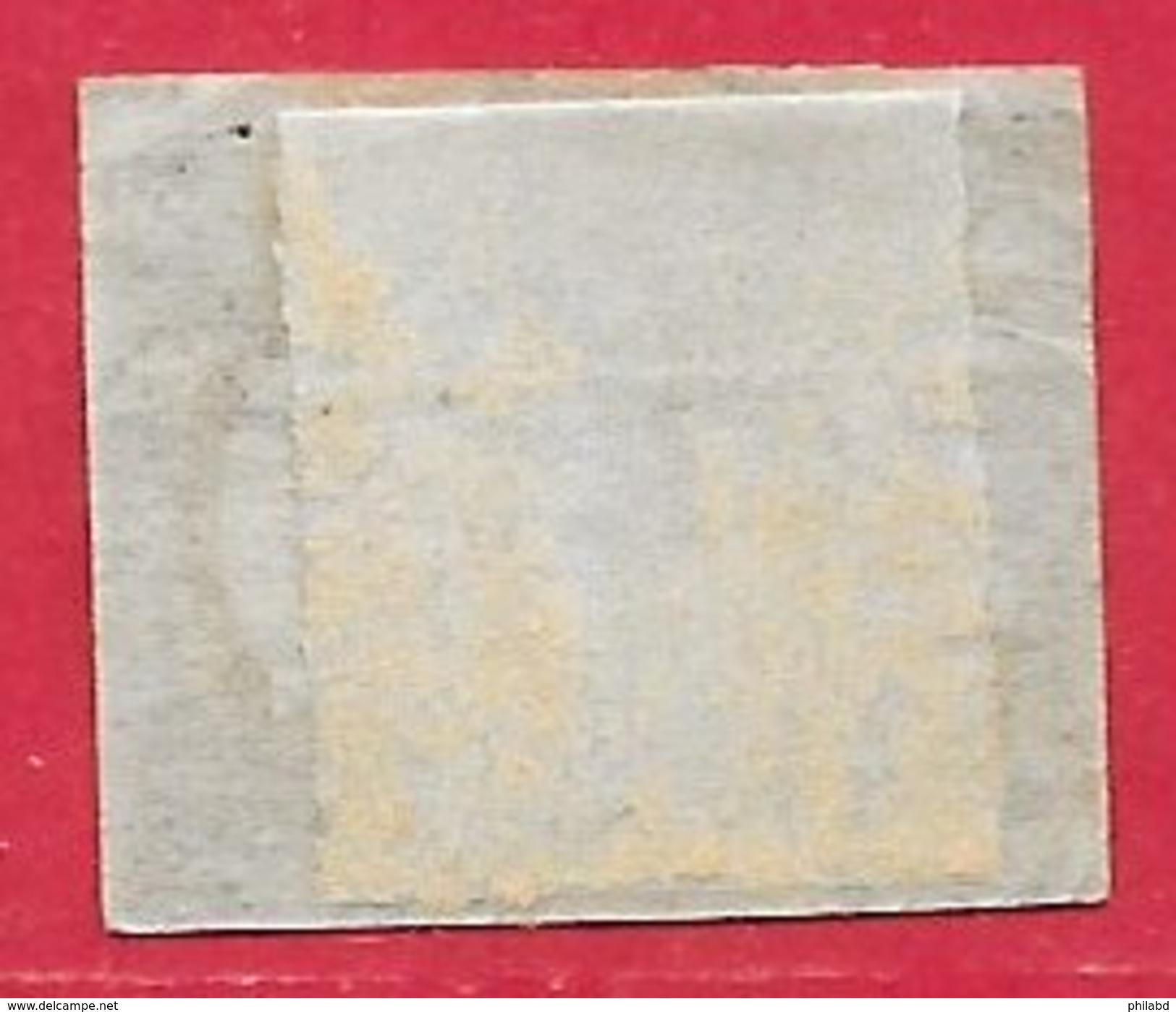 Brésil N°17A 300r Noir 1850 O - Brésil