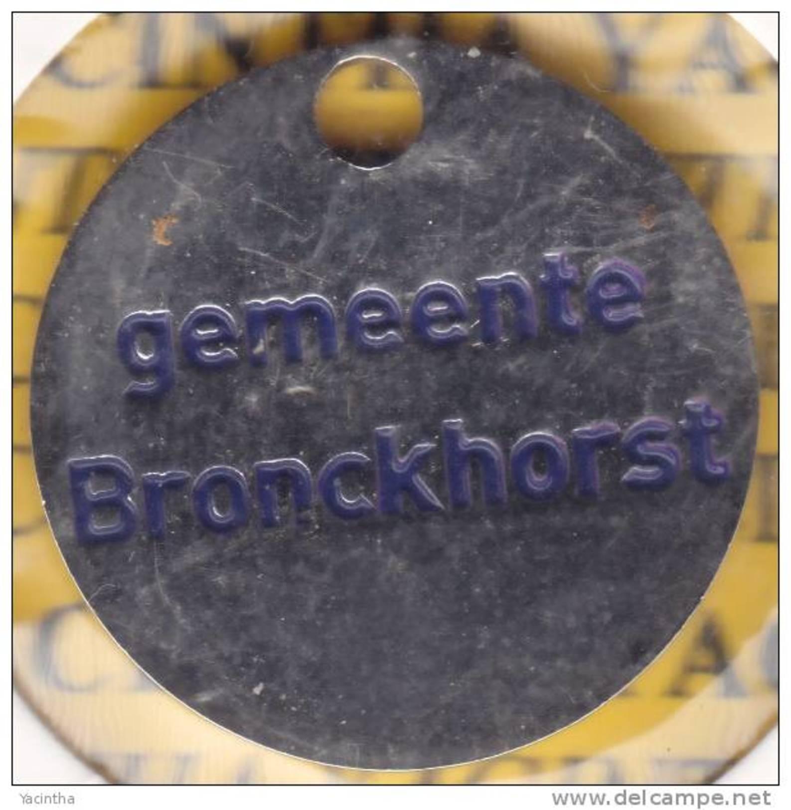 Winkelwagen Muntje   Gemeente Bronckhorst  Lage Oplage.(4909) - Einkaufswagen-Chips (EKW)