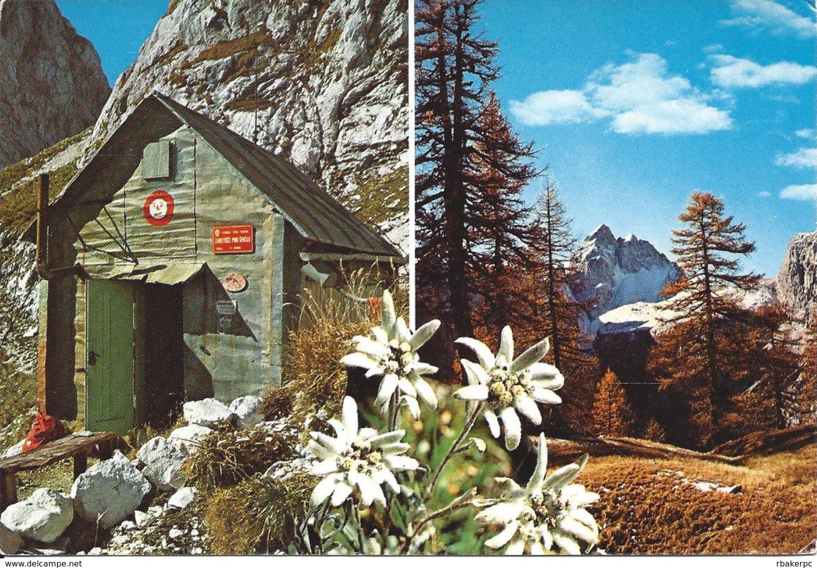 Stamped/Used Postcard - Mountain Scene - Yugoslavia
