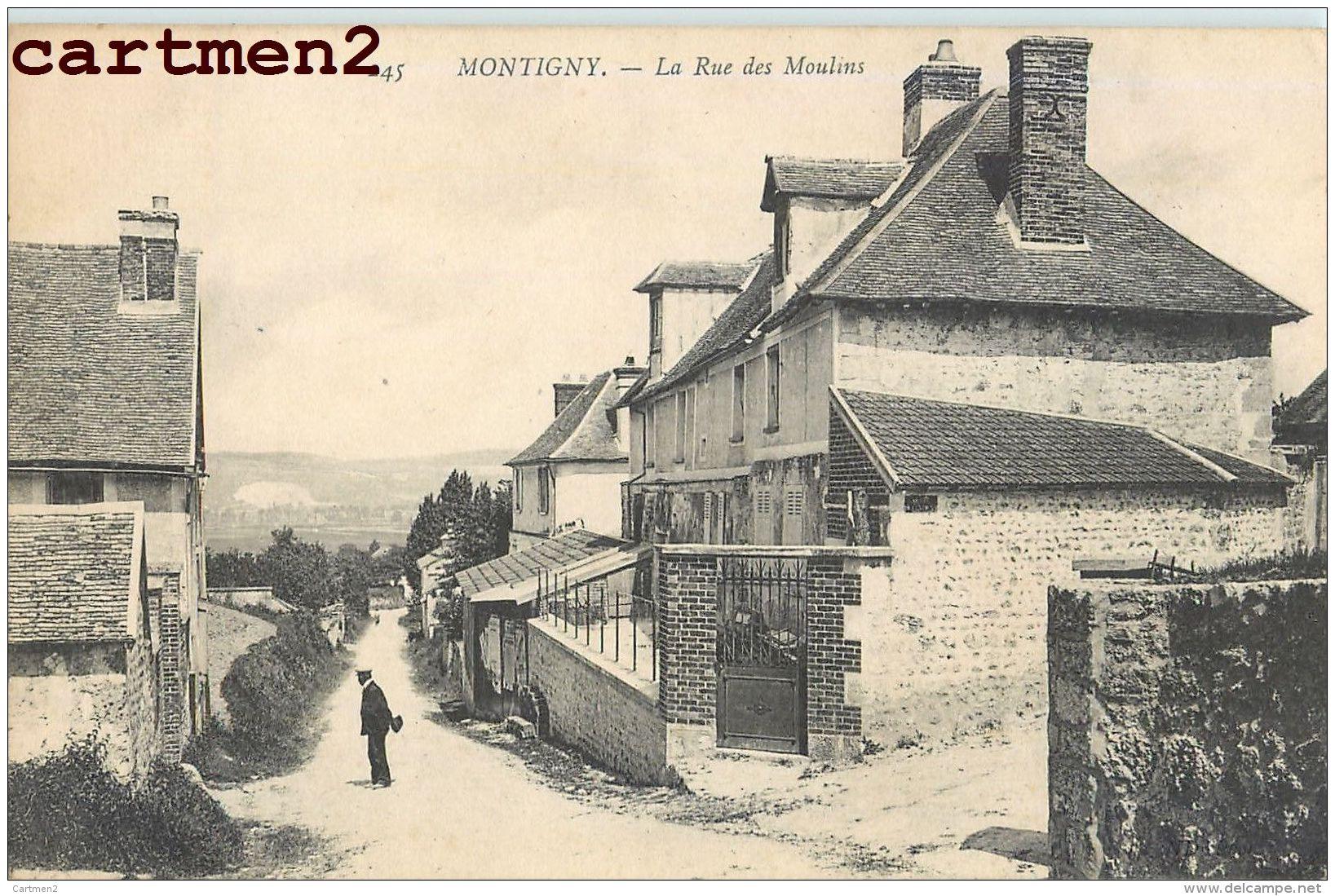 MONTIGNY LA RUE DES MOULINS 78 YVELINES - Montigny Le Bretonneux