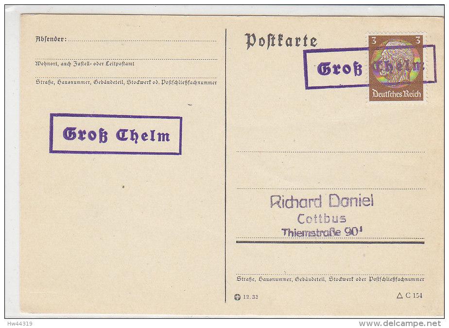 LANDPOST Groß Chelm - Briefe U. Dokumente
