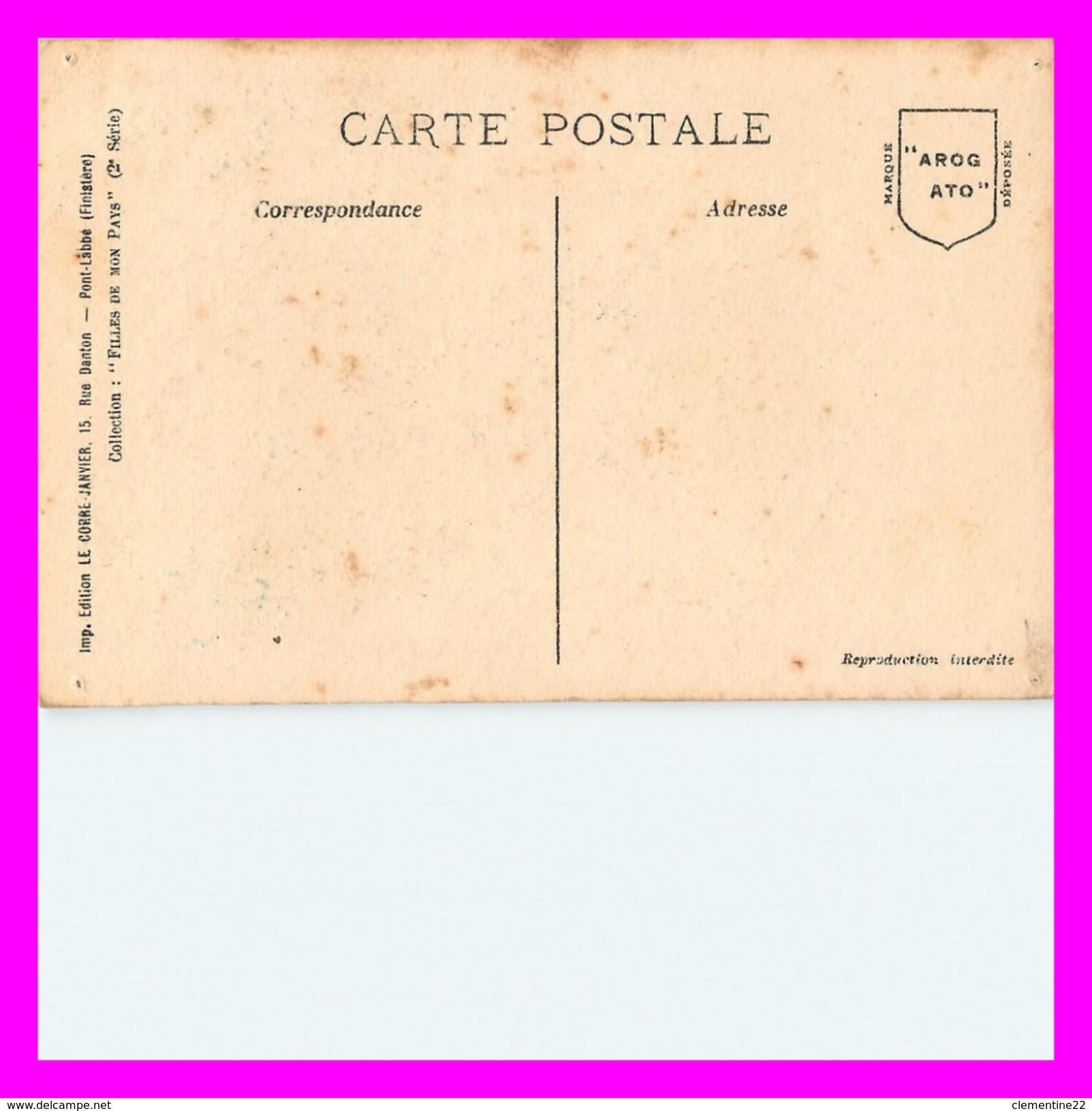 ILLUSTRATEURS BRETONS - CHATEAULIN  - Carte Illustrée Par PAULETTE (scan Recto Et Verso ) - Autres Illustrateurs