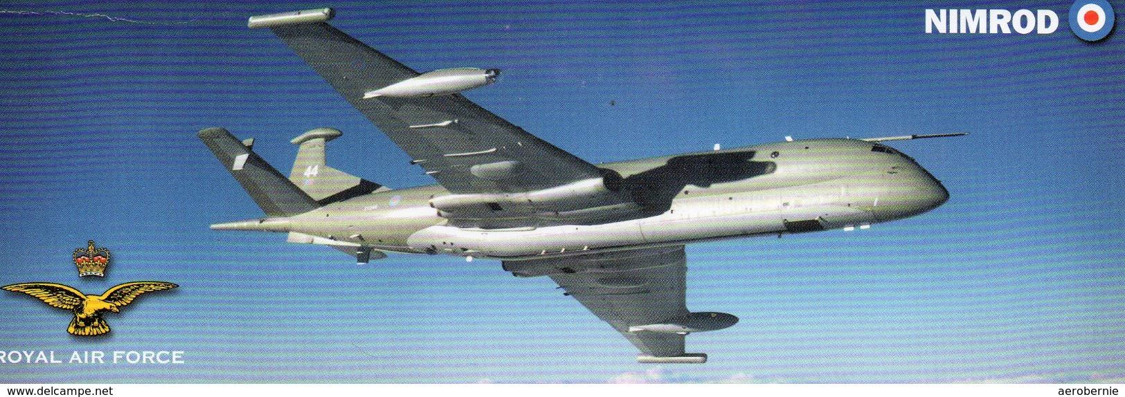Royal Air Force - Hawker Siddeley NIMROD - 1946-....: Moderne