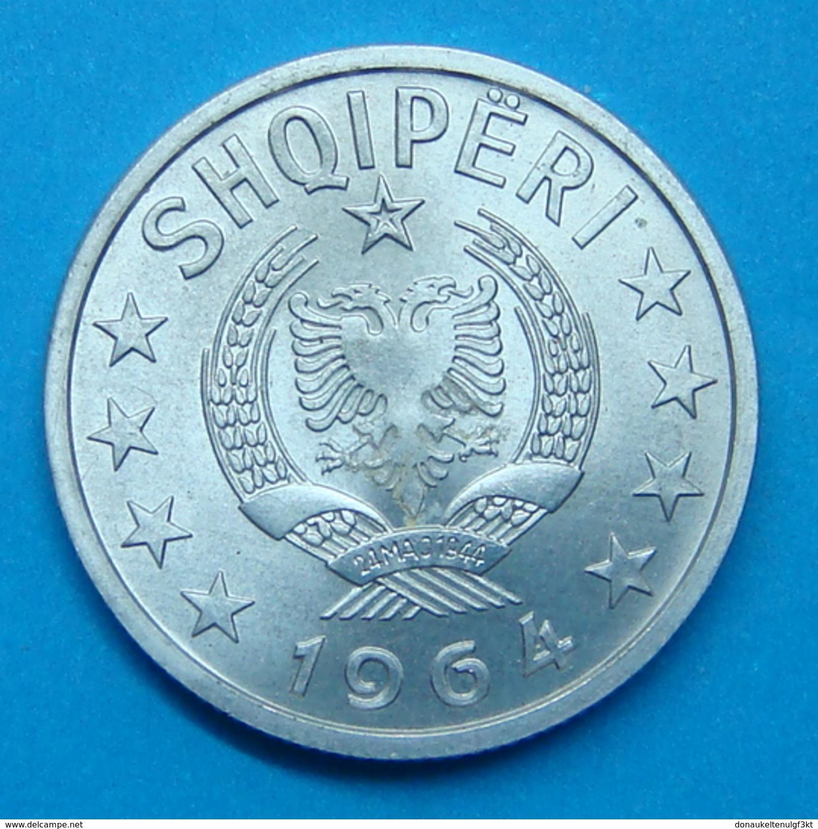 ALBANIA 20 QINDARKA 1964, UNC - Albanie
