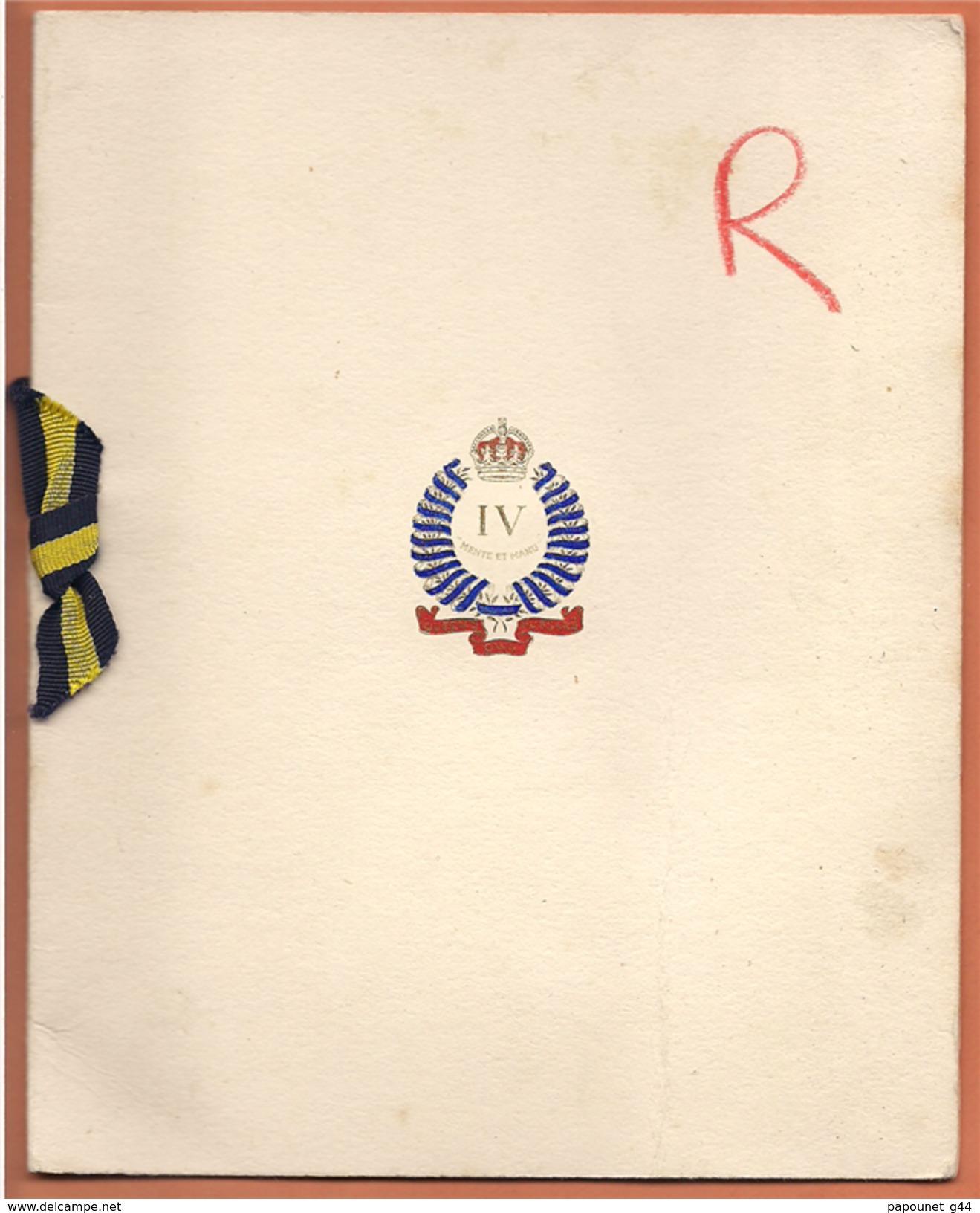 Carte De Voeux Destinée Au Colonel Et Officiers Du 6ème Régiment De Dragons - Sin Clasificación