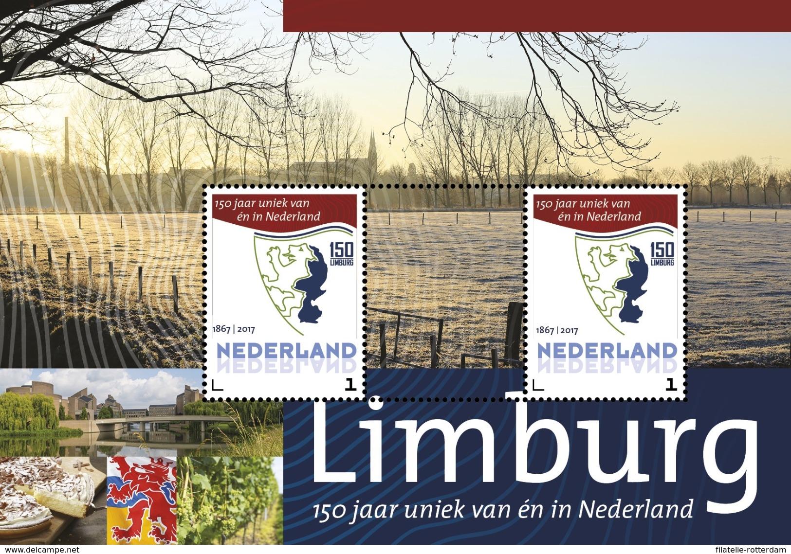 Nederland / The Netherlands - Postfris / MNH - Sheet 150 Jaar Limburg 2017 - Neufs