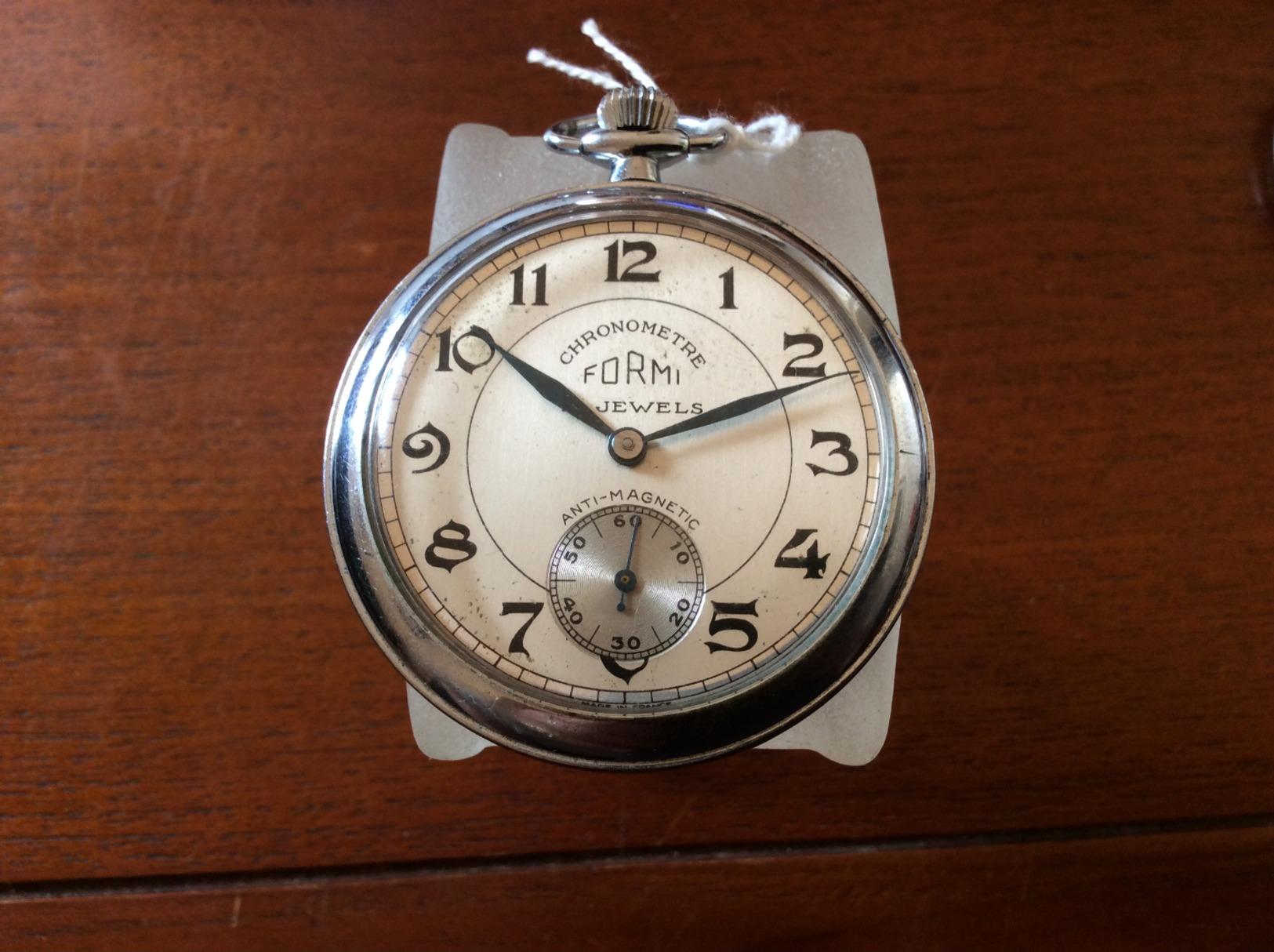 Montre Gousset Formi Chronomètre - Horloge: Zakhorloge