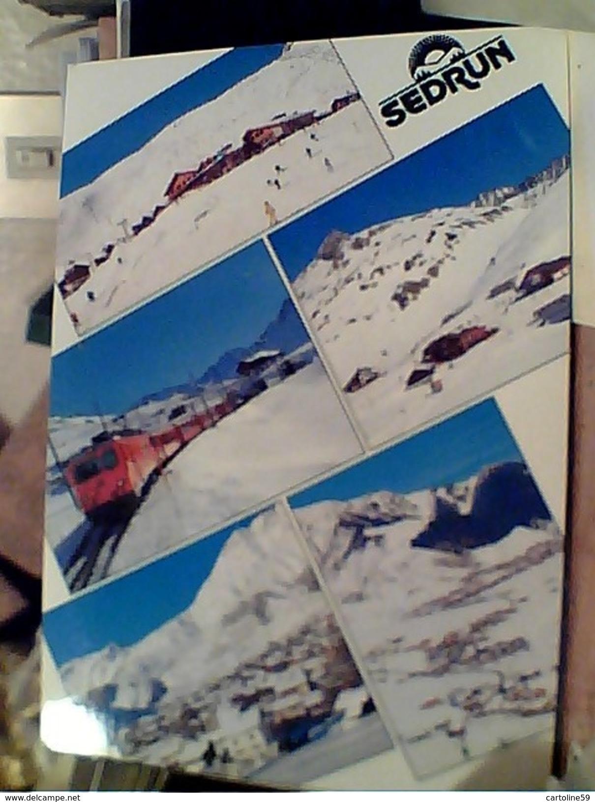 SUISSE SVIZZERA SEDRUN GRAUBUNDEN TRENO TRAIN BAHN  STAMP TIMBRE SELO Buch E Presse  60 VB1994  GC13795 - ZG Zoug