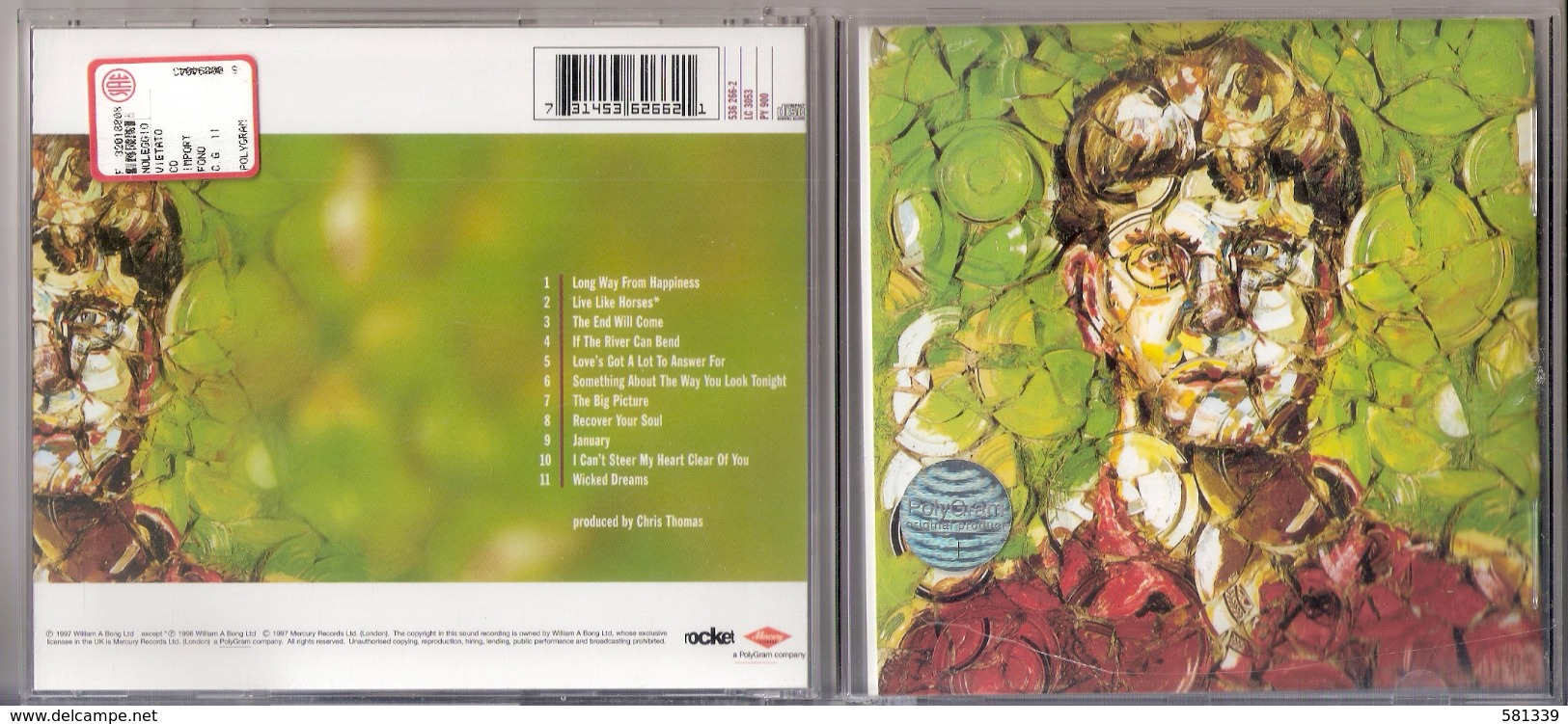 "CD   "" ELTON JOHN - THE BIG PICTURE "" - Disco, Pop"