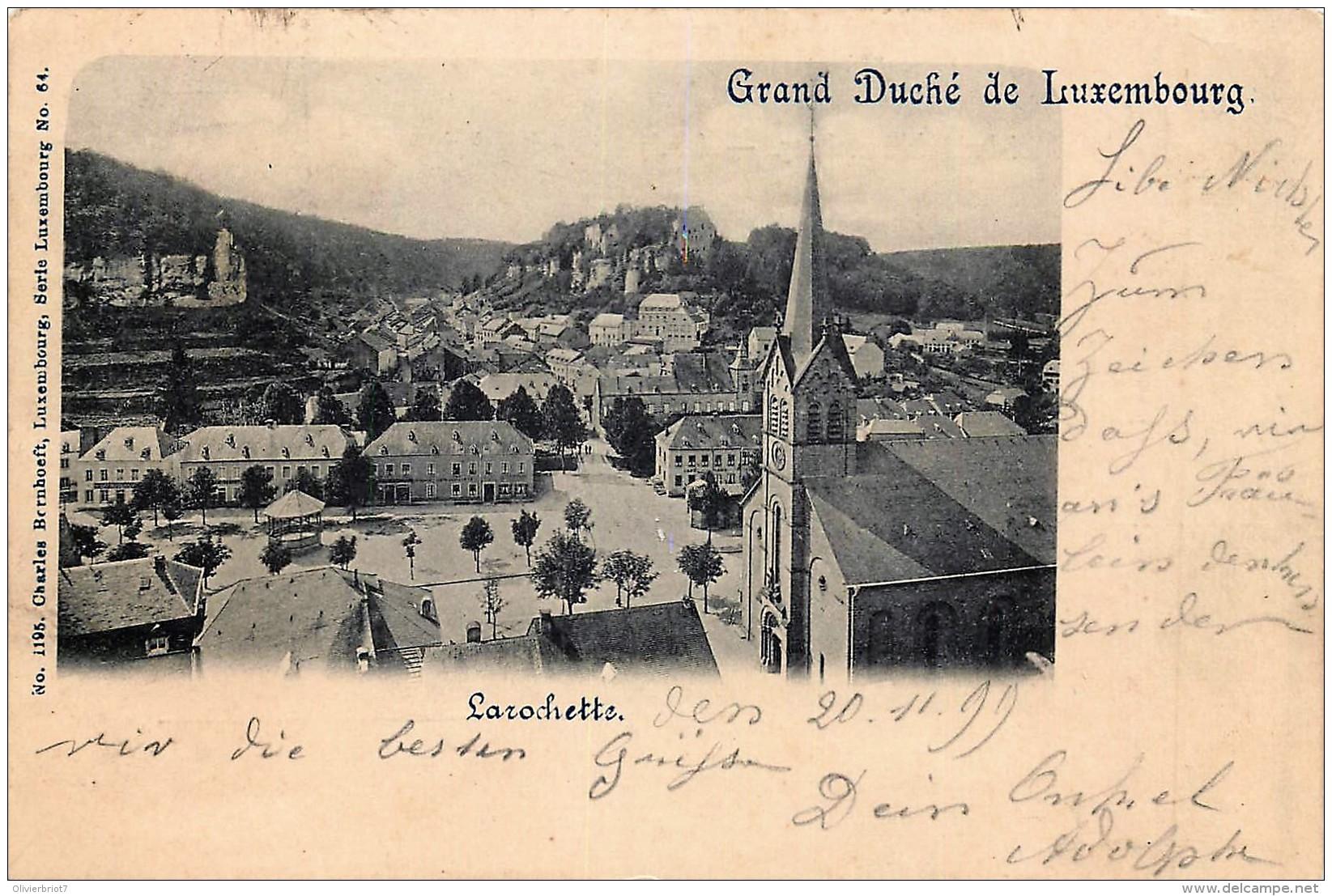 Luxembourg - Larochette - N° 1195 Edit. CH. Bernhoeft Série Luxembourg N° 64 - Larochette