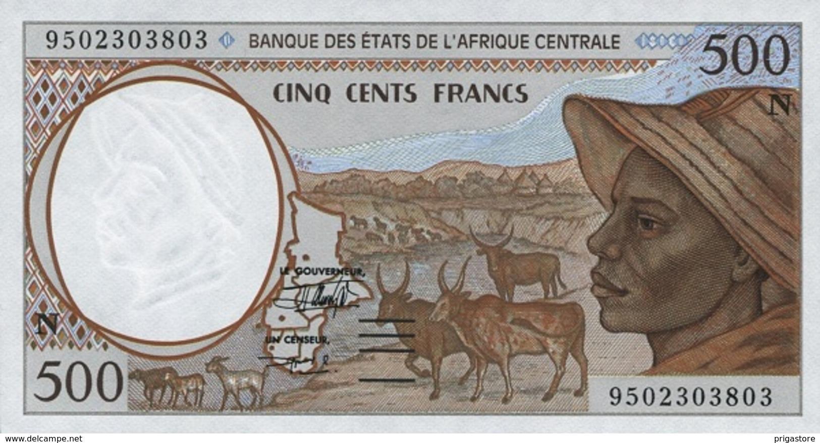 East African States - Afrique Centrale Guinée Equatoriale 1995 Billet 500 Francs Pick 501 C Neuf 1er Choix UNC - Guinée Equatoriale