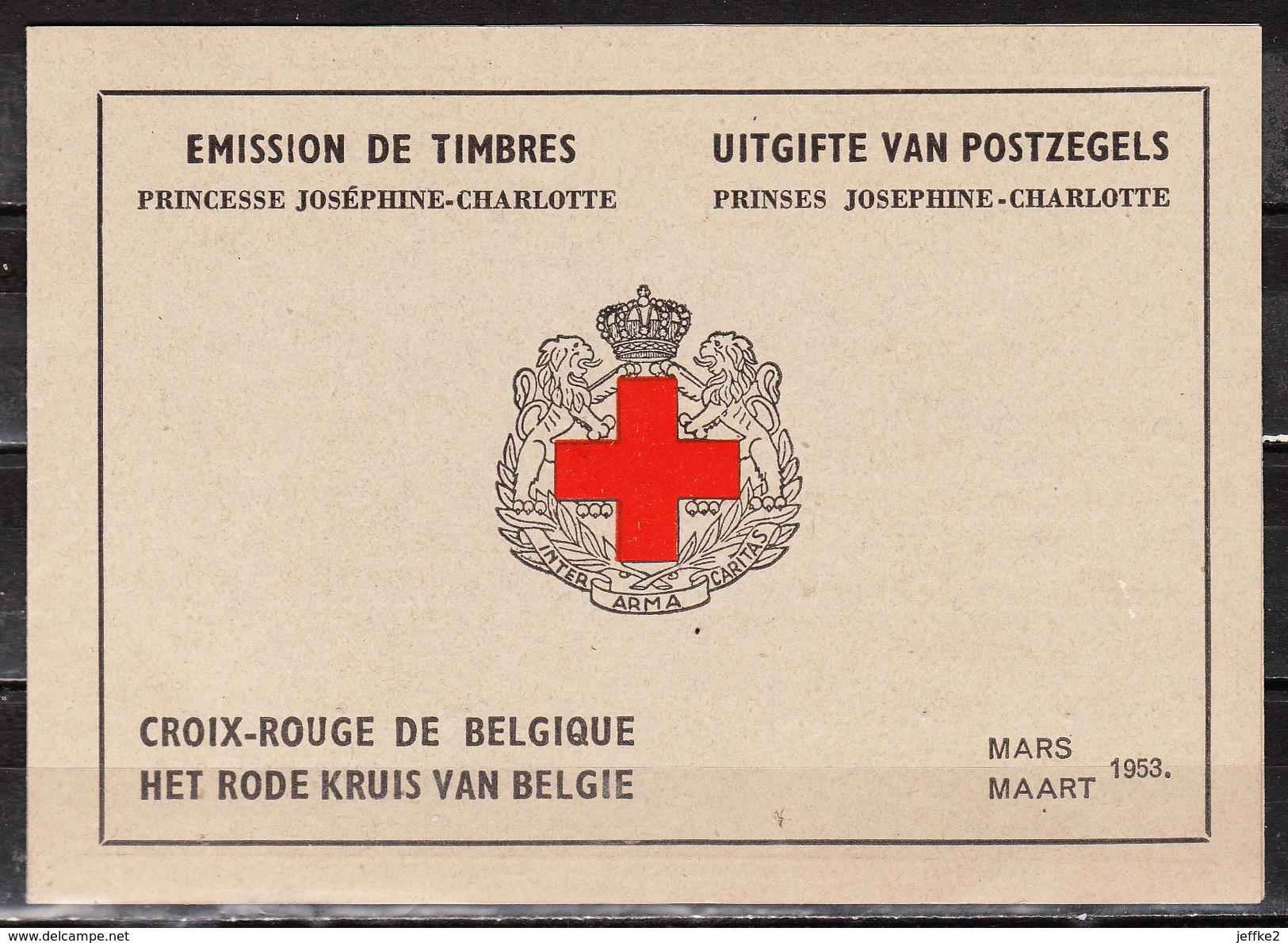 914A**  Carnet Joséphine-Charlotte - MNH** - COB 100 - Vendu à 15% Du COB!!!! - Belgium