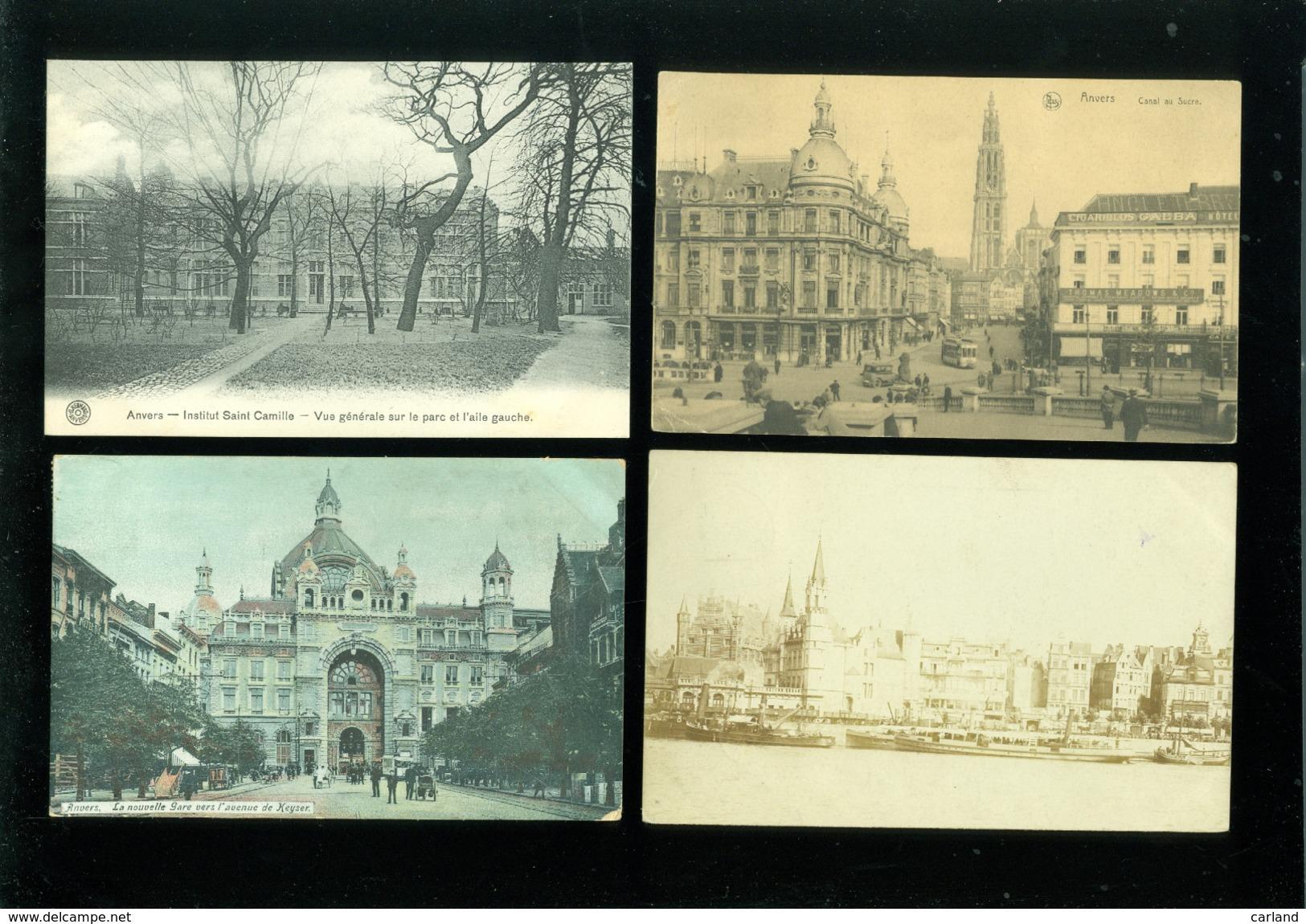 Grand Lot De 400 Cartes Postales D' Anvers (genre Drouille) Groot Lot 400 Postkaarten Van Antwerpen  ( Brol ) - 51 Scans - Cartes Postales