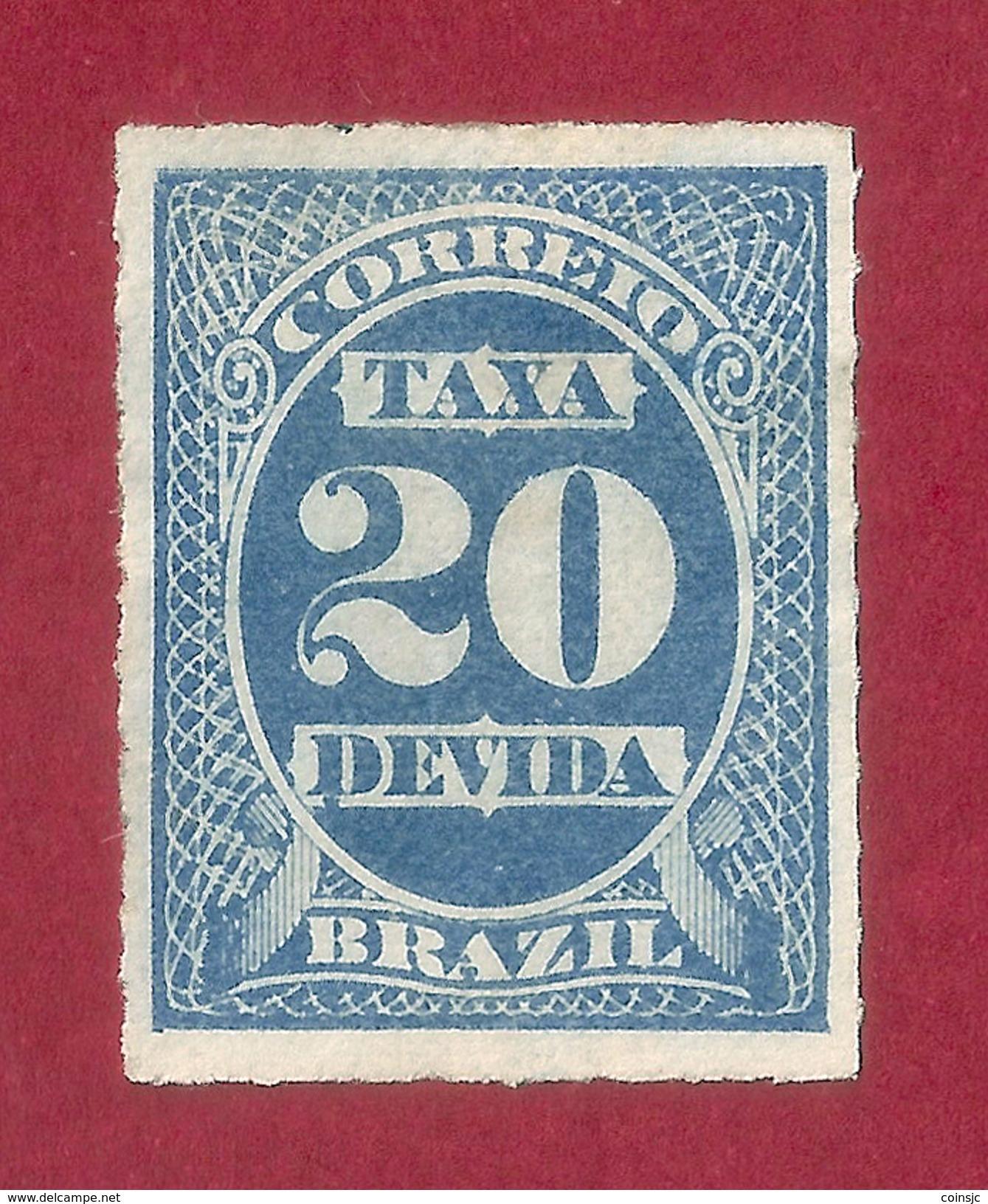 Brasil - 20 Reis - 1893 - Ungebraucht
