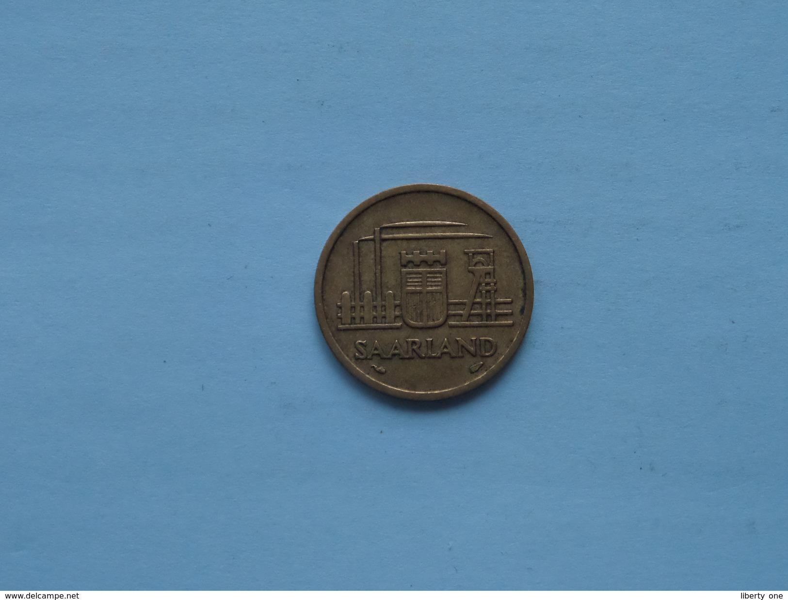 1954 - Zwanzig Franken 20 - KM 2 ( Details Zie Foto ) ! - Saar