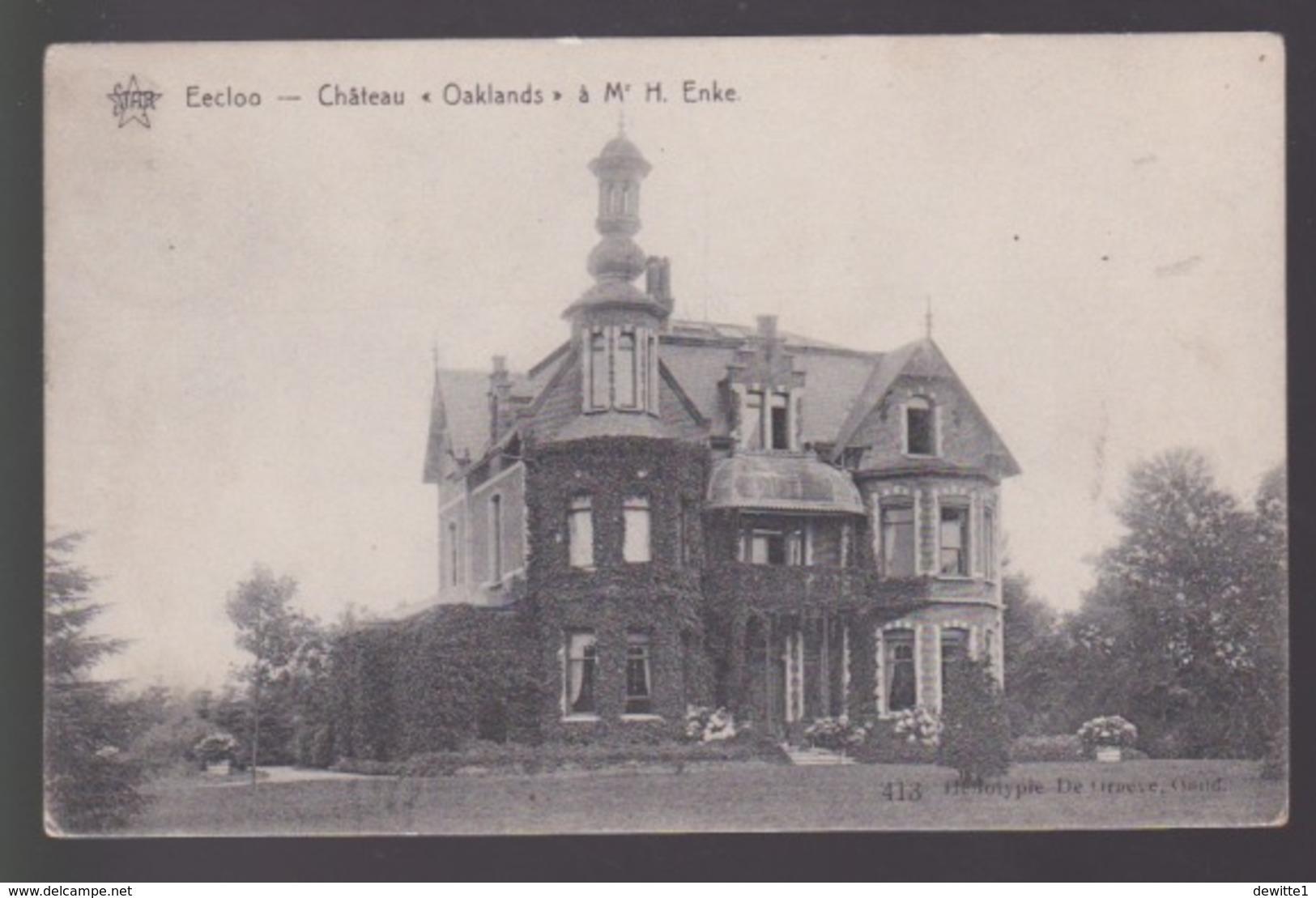 Eeklo.  Chateau Oaklands Mr.H. Enke - Eeklo