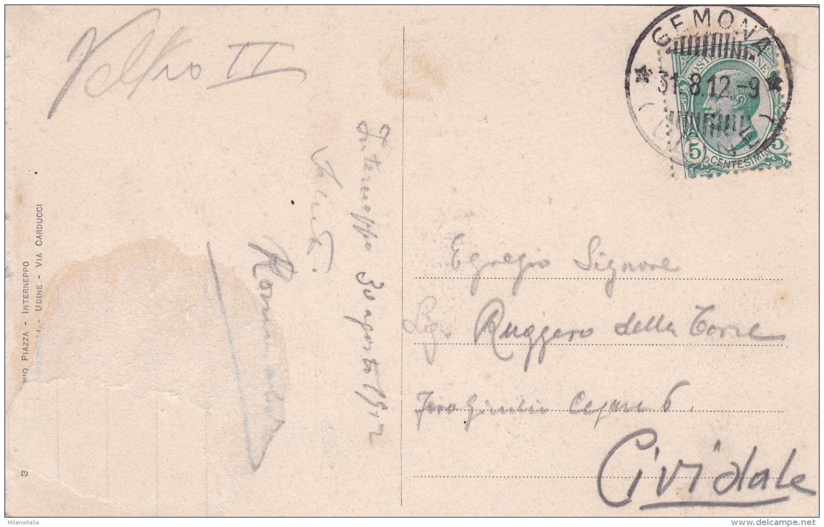 Lago Di Cavasso - Interneppo * 31. 8. 1912 - Udine