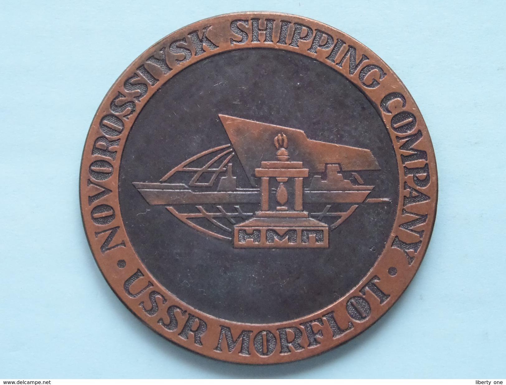 USSR MORFLOT - NOVOROSSIYSKSHIPPING COMPANY ( Details Zie Foto's - 70 Gr. / 60 Mm.) U.S.S.R. ! - Autres