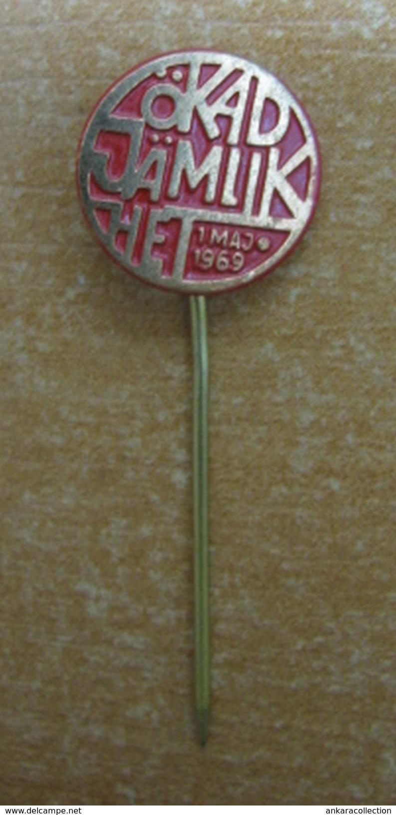 AC - SWEDISH PIN - BADGE 1969 - Tiro Con L'Arco