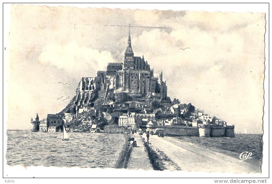 ----50 ----- LE MONT SAINT MICHEL   Vue Prise De La Digue TTB - Le Mont Saint Michel