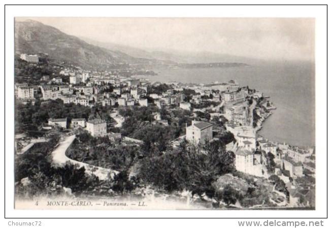 (Monaco) 045, LL 4, Monte-Carlo, Panorama - Monte-Carlo