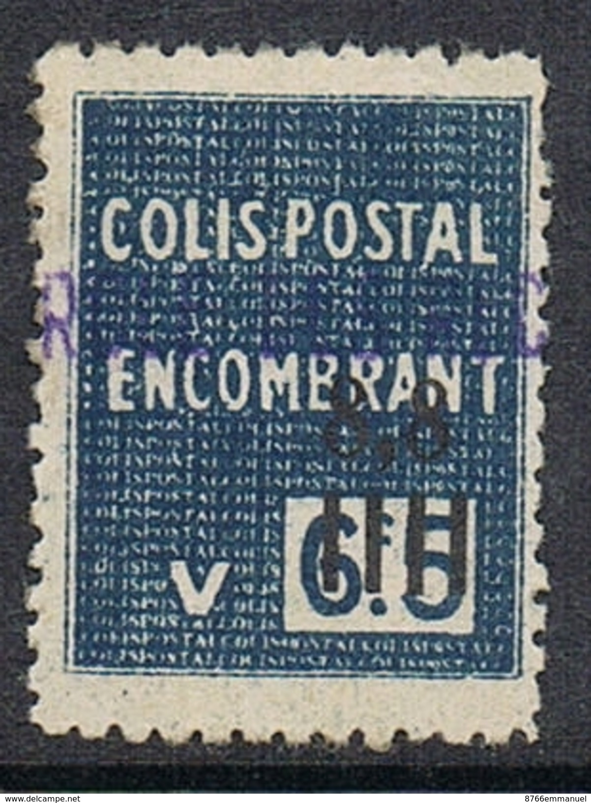ALGERIE COLIS POSTAL N°146 N* - Algérie (1924-1962)