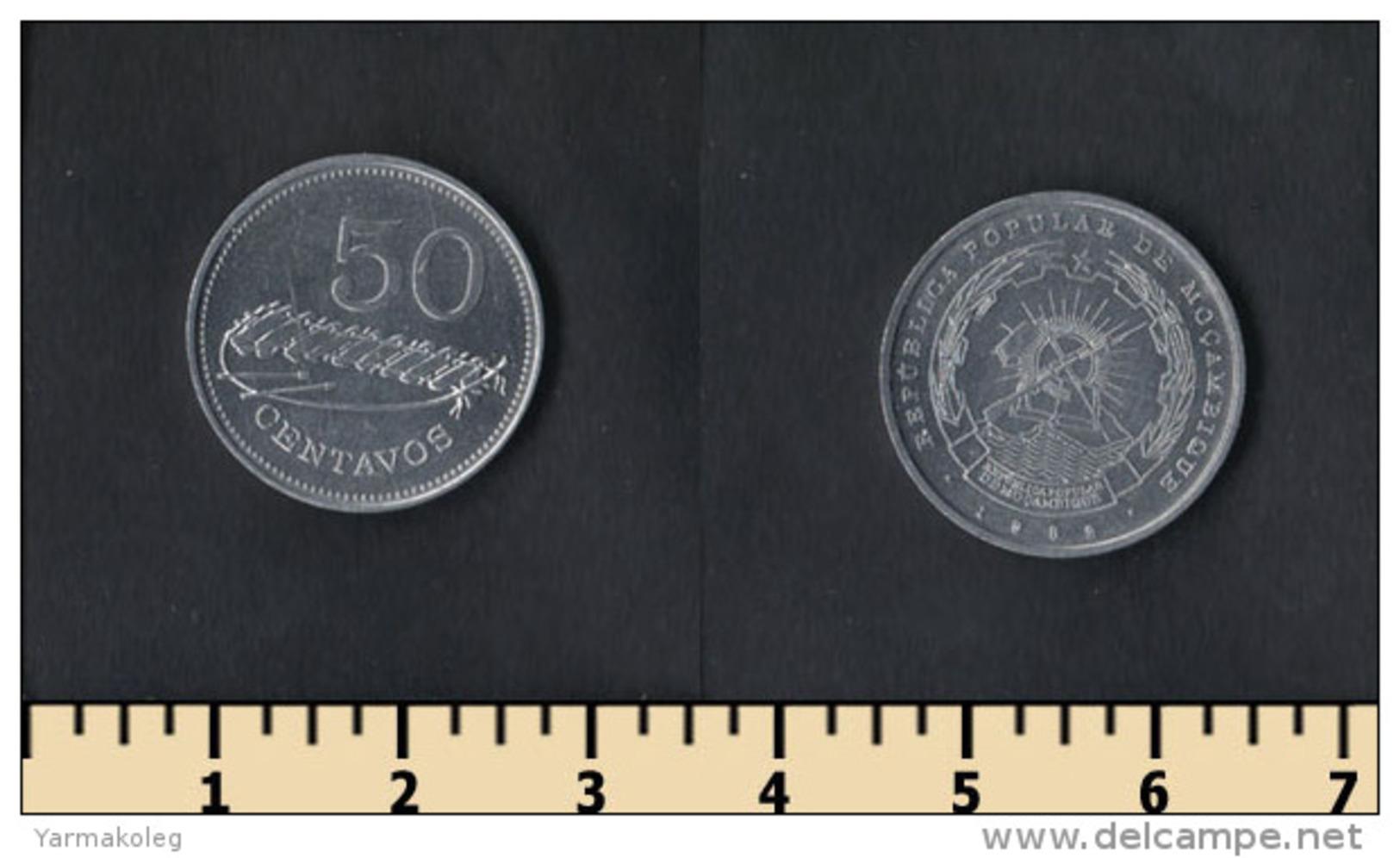 Mozambique 50 Centavos 1982 - Mosambik