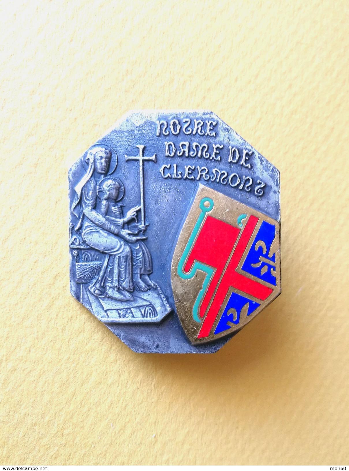 Spilla Notre Dame De Clermont -P482 - Pin's
