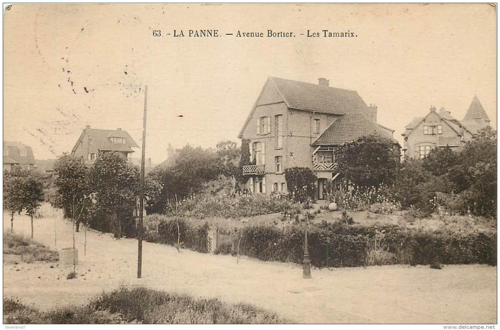La Panne - Les Tamarix - Avenue Bortier - De Panne