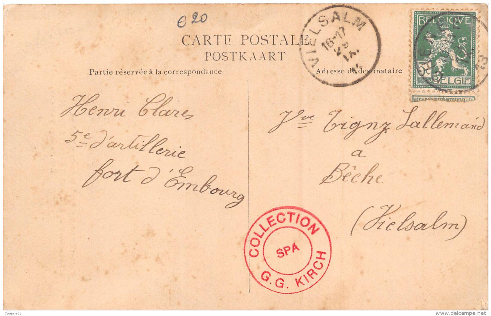 Fort D'Embourg-Cerfs Volants Militaire, Ascension Du M.d.l. Chef Georges à Spa 1912 - Spa