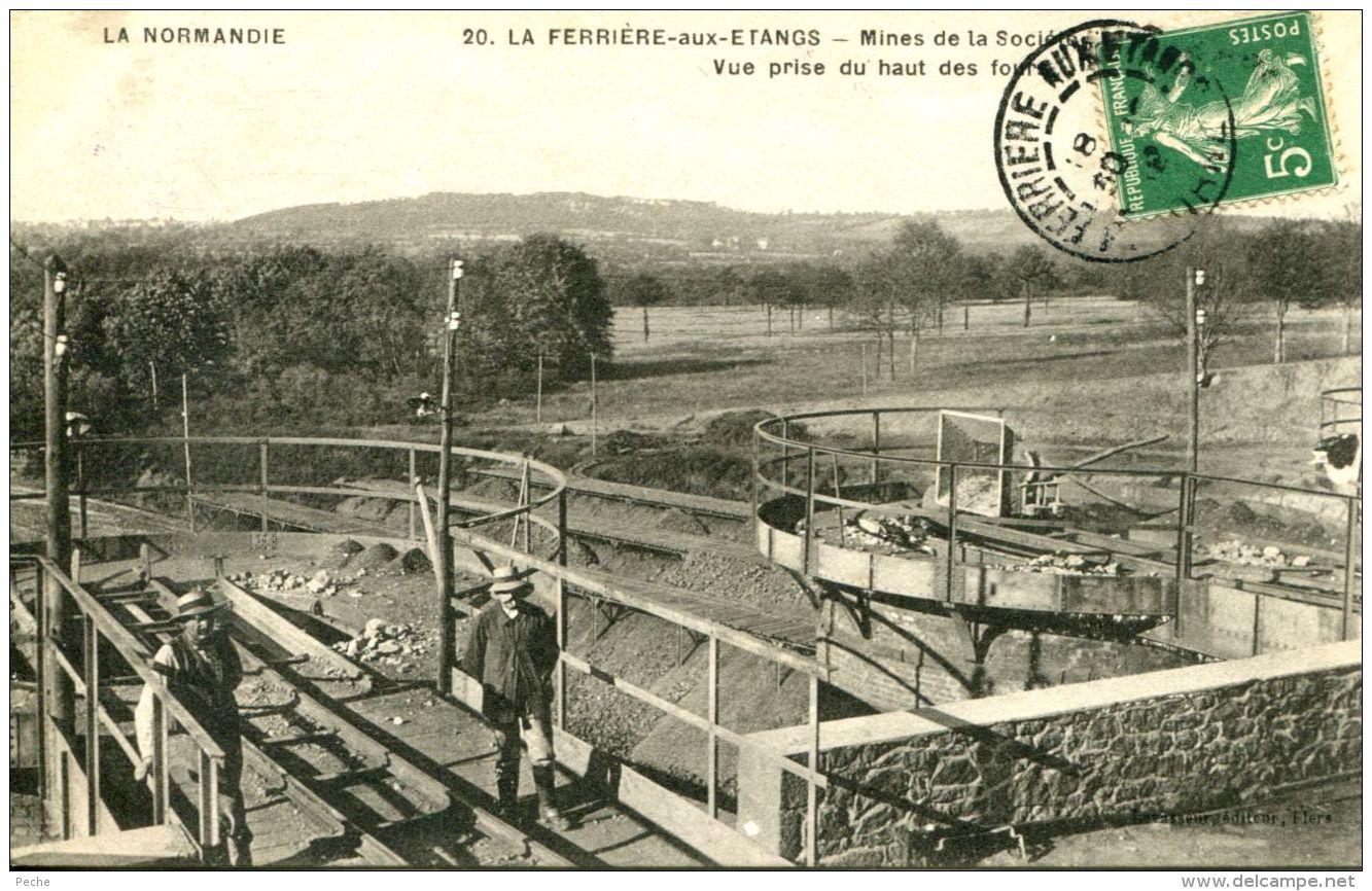 N°30790 -cpa La Ferrière Aux Etangs -sté Des Mines De Denain Et Anzin- - Autres Communes