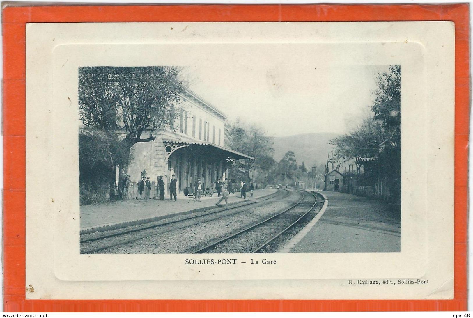 Var : Sollies Pont, La Gare - Sollies Pont
