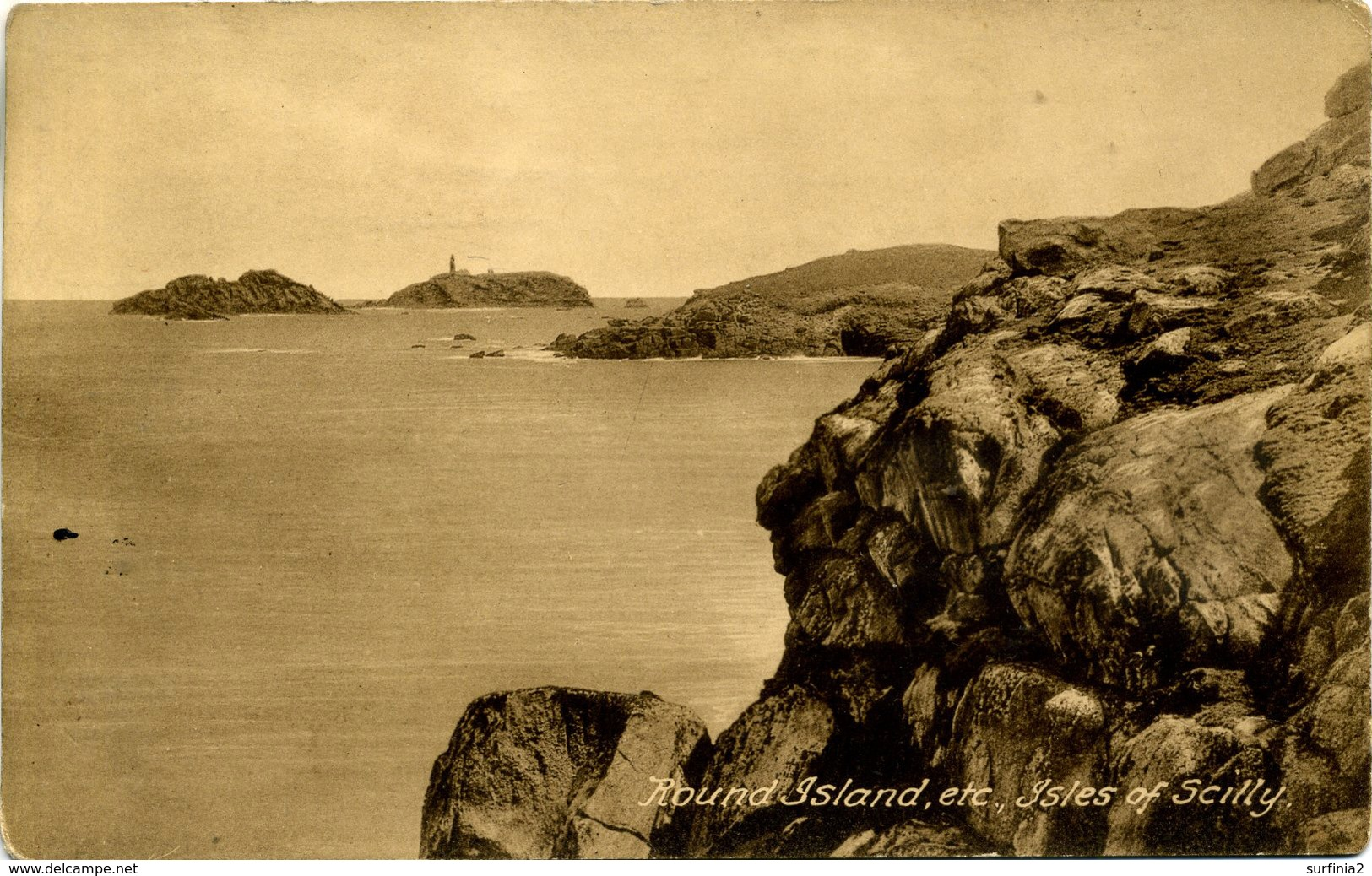 SCILLY ISLES -  ROUND ISLAND ETC Sc81 - Scilly Isles