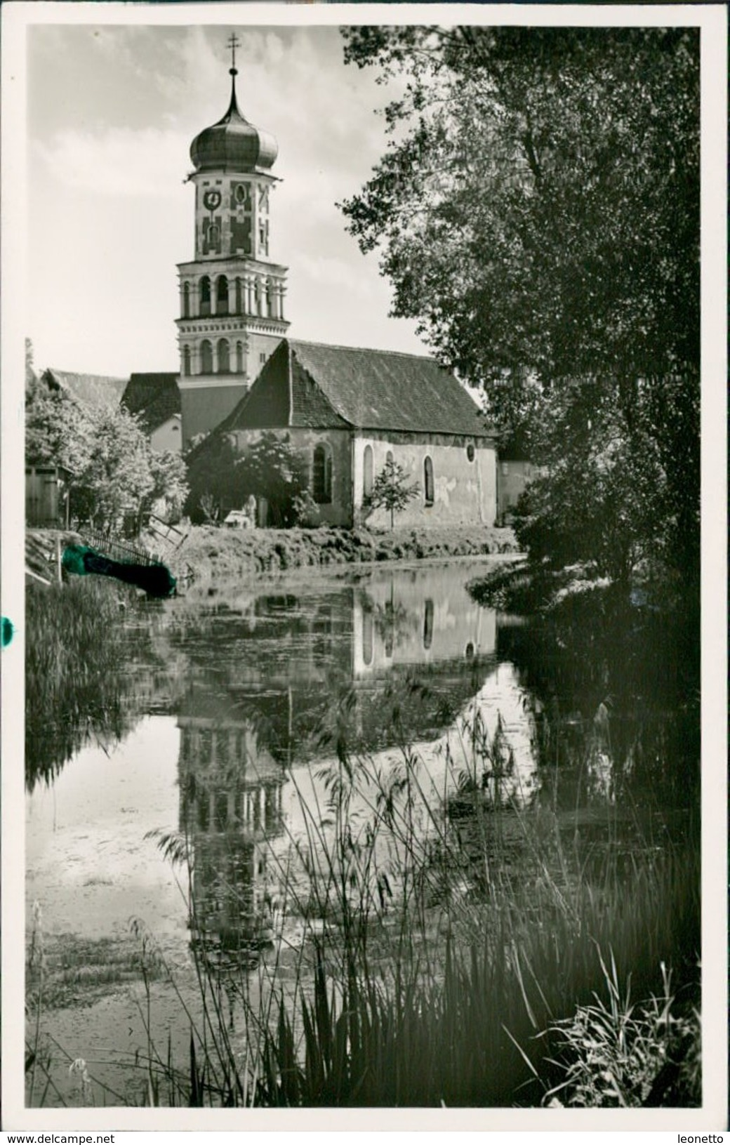 AK Meßkirch, Altkatholische Kirche, Ca. 1950er Jahre (20353) - Otros