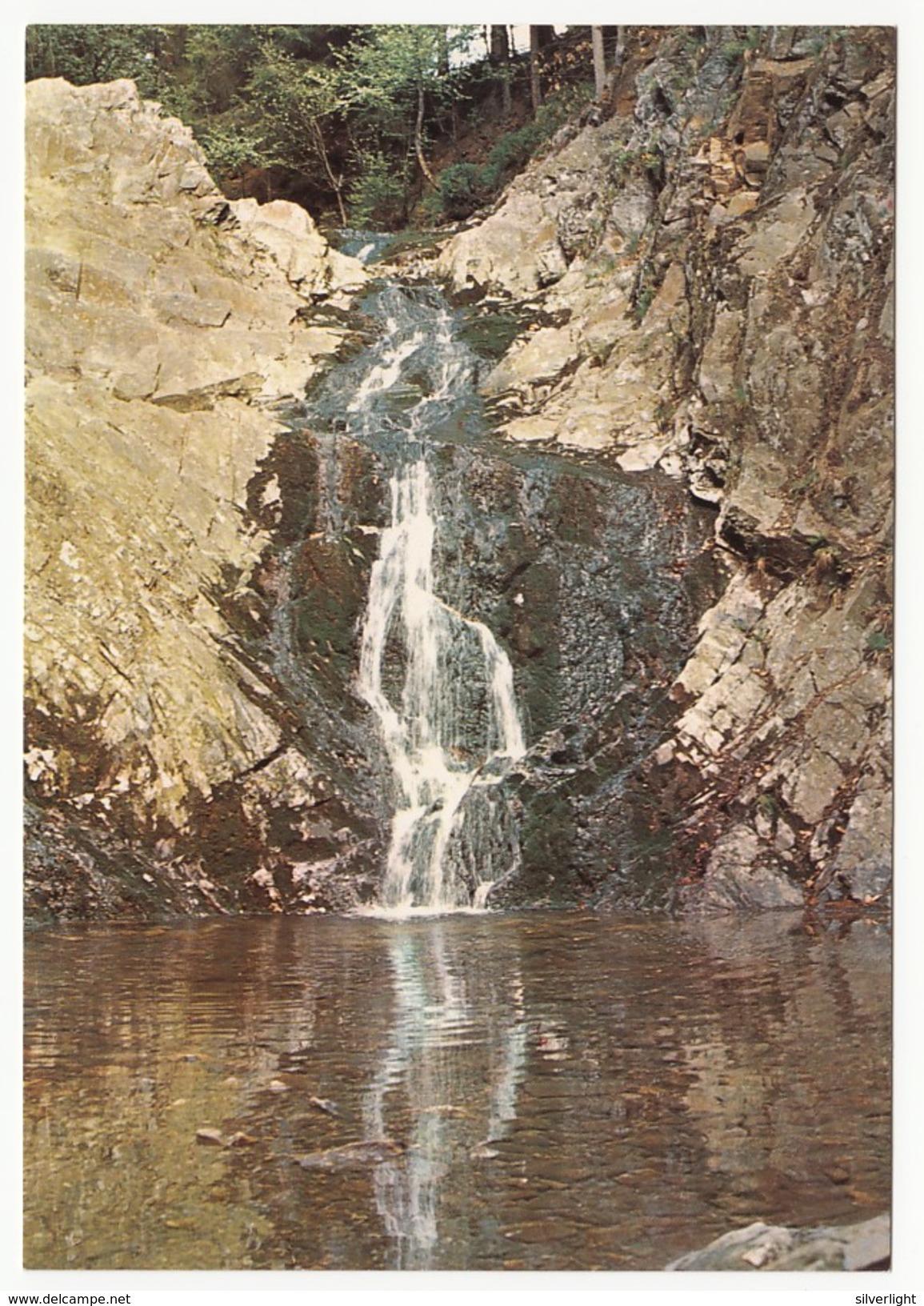 Hautes Fagnes (Hohes Venn) - La Cascade Bayehon - Inutilisé - Belgique
