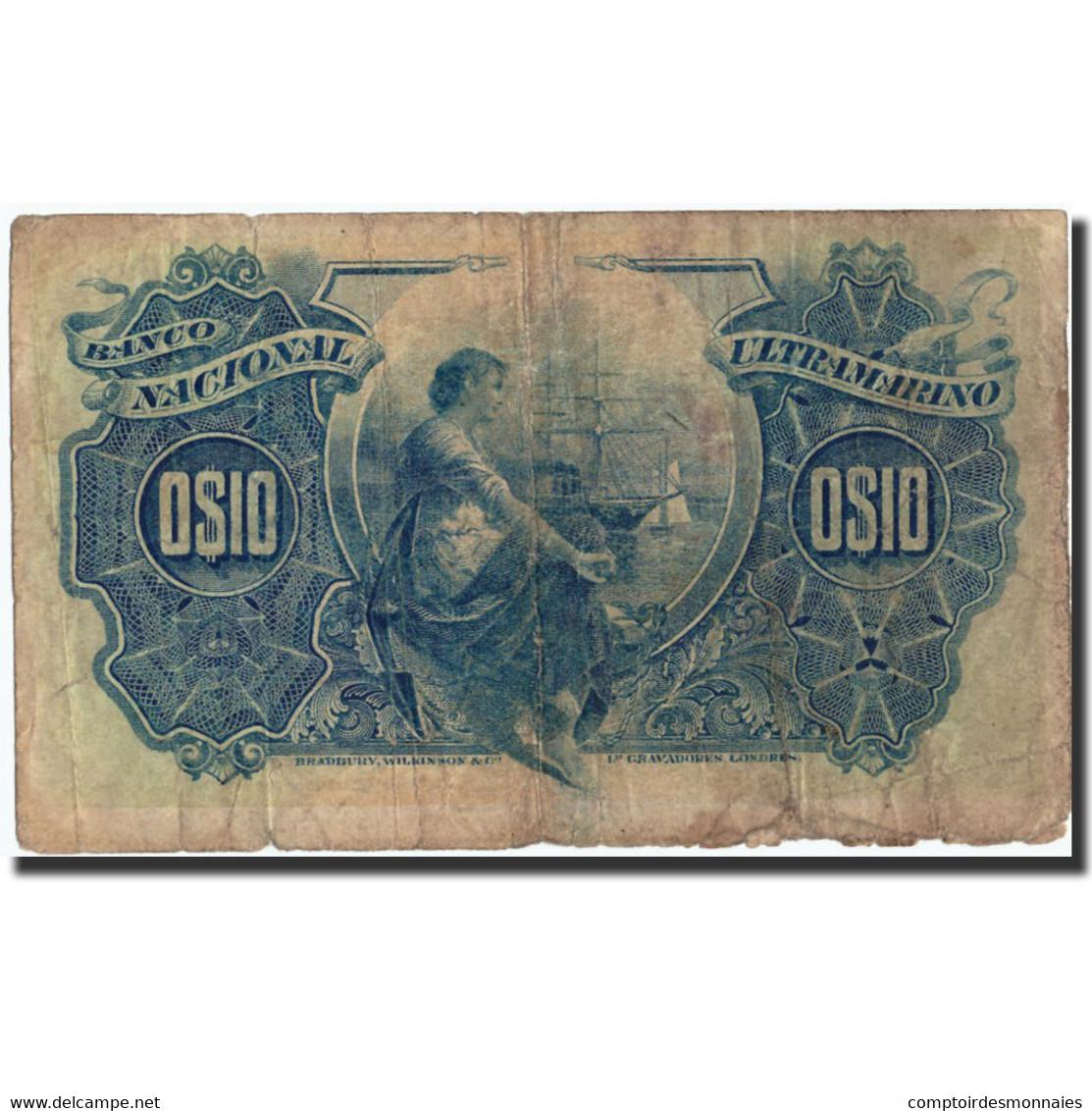 Mozambique, 10 Centavos, 1914, KM:56, 1914-11-05, B - Mozambique