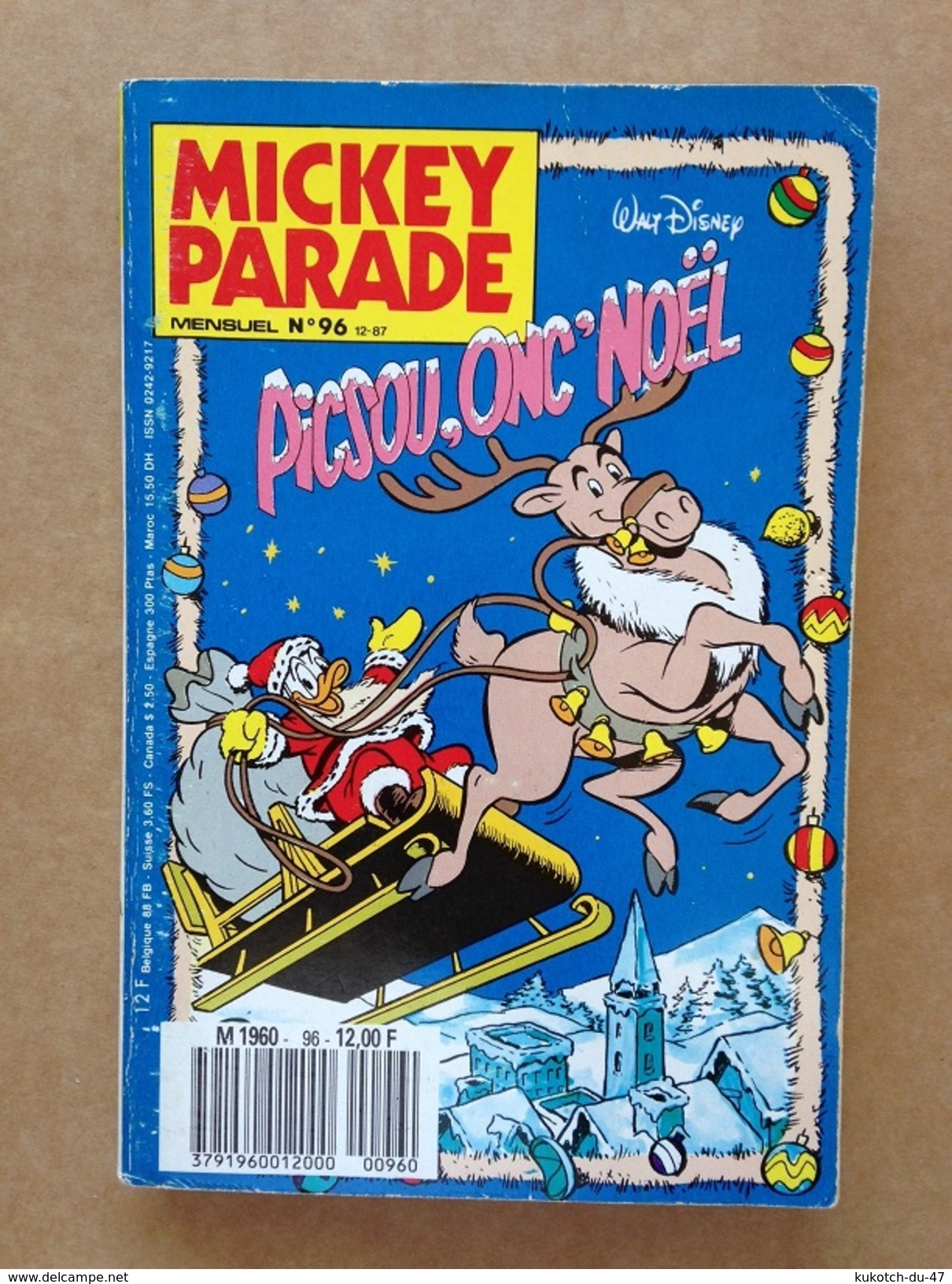 Disney - Mickey Parade - Année 1987 ° N°96 - Mickey Parade