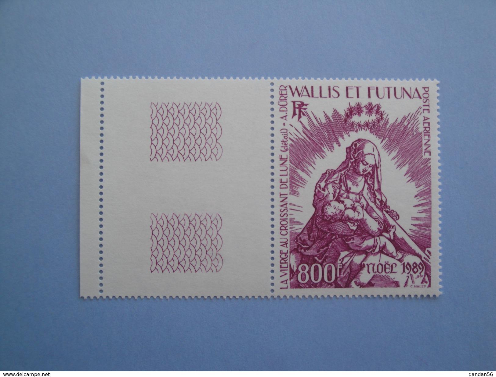 1989 Wallis Et Futuna Yvert  PA 167 ** Noël  Christmas  Scott C 163  Michel 573 SG 554 Albrecht Dürer - Poste Aérienne