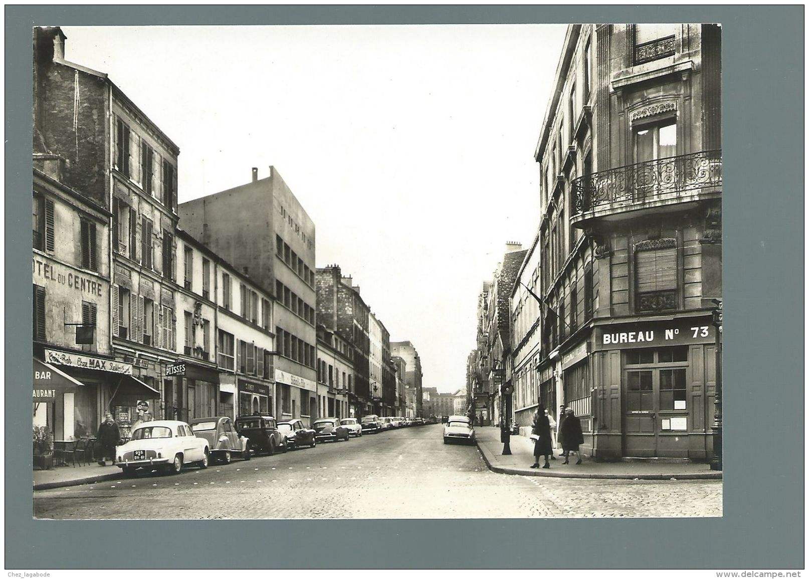 CP (75) Paris  -  Rue Du Rendez-vous  -  Voitures : Renault Dauphine, Citroën 2cv, DS .... - Arrondissement: 12