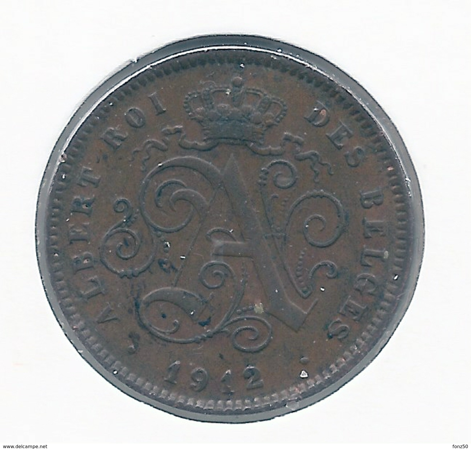 2 Cent 1912 Frans * Z.Fraai / Prachtig * Nr 8341 - 1909-1934: Albert I