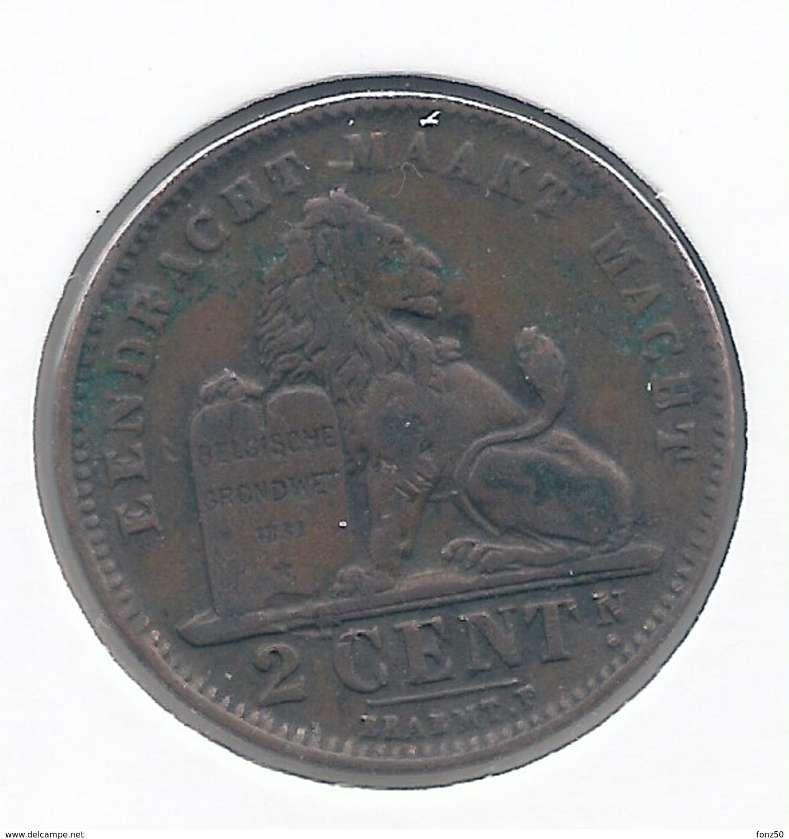 2 Cent 1912 Vlaams * Z.Fraai * Nr 3978 - 1909-1934: Albert I
