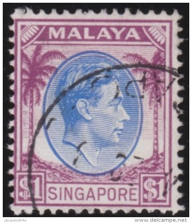 Singapore      .      SG     .     13       .     O      .      Gebruikt   .    /    .      Cancelled - Singapore (...-1959)