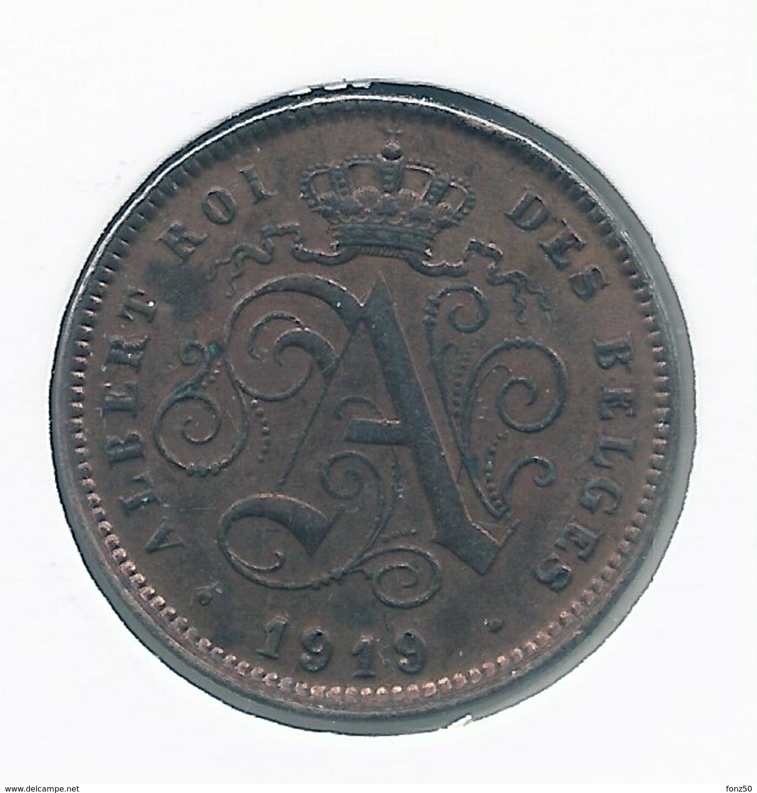 2 Cent 1919 Frans * Prachtig * Nr 3110 - 02. 2 Centimes