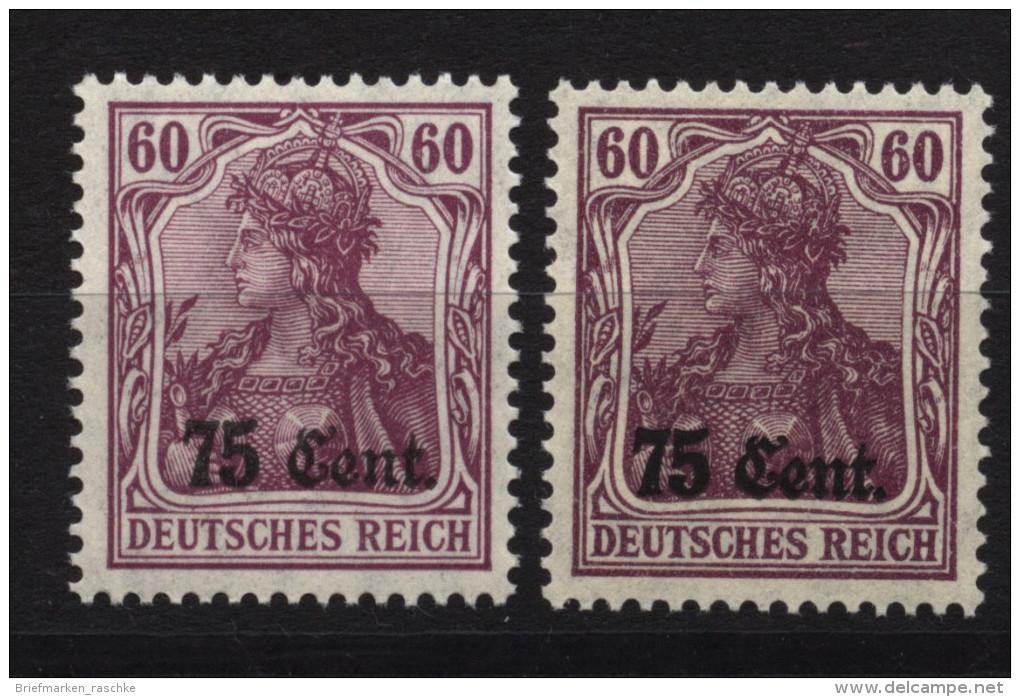 Etappe West,9a,b,xx ,Michel 51 Euro - Besetzungen 1914-18