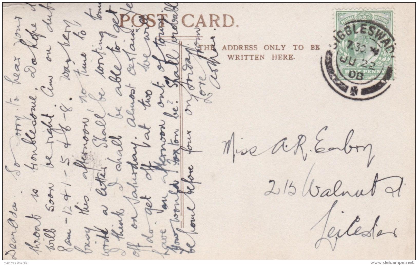 AM73 Elmer Keene Postcard - The Ouse, Bedford - Bedford