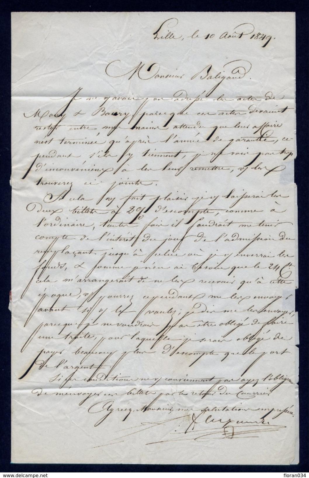 France N° 3 Paire S/Lettre Grille + Càd Type 13 - Signé - Cote 1150 Euros - 1849-1850 Ceres