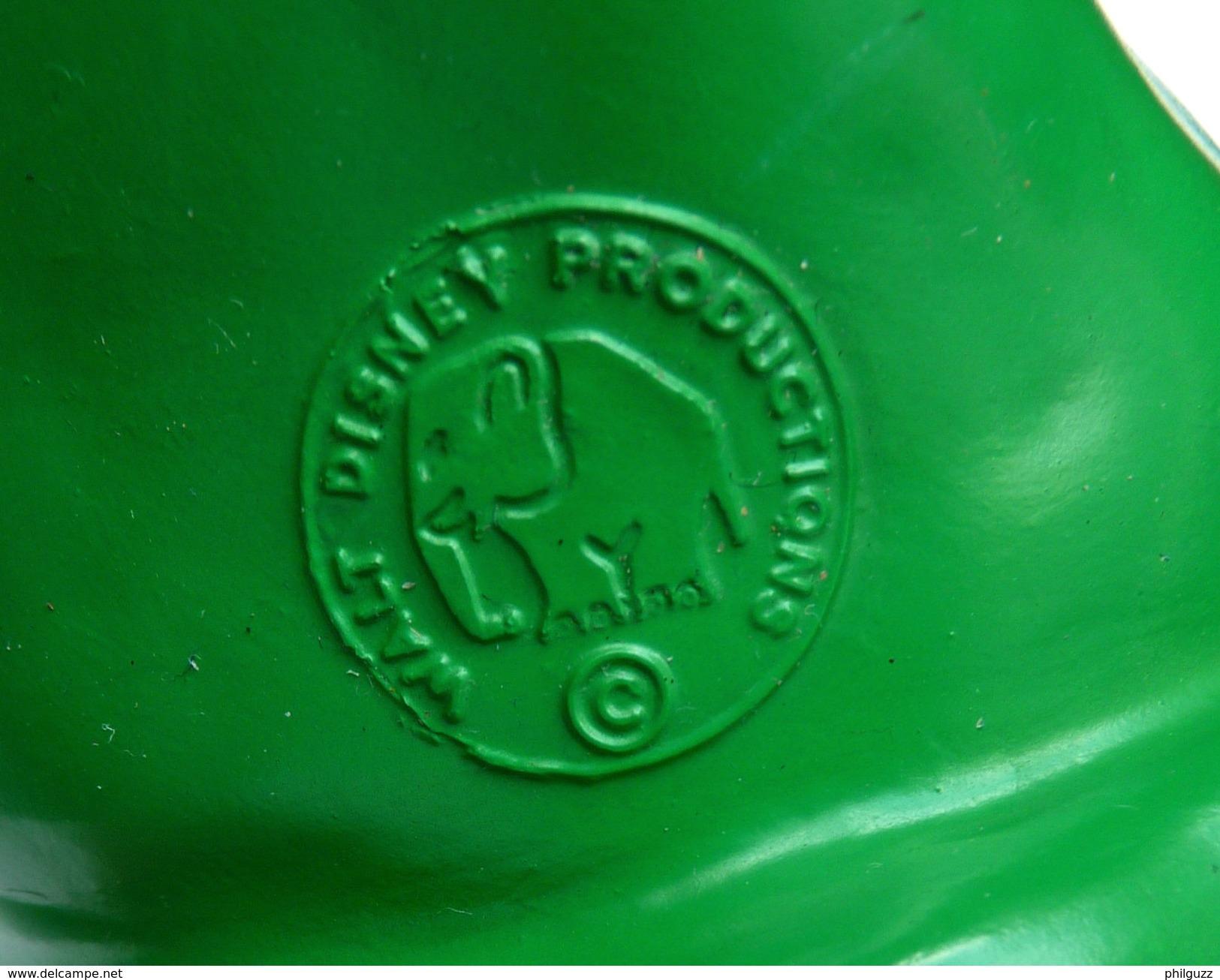 POUET DISNEY - JOYEUX  - LEDRA PLASTICA 1963 FIGURINE NAIN DE BLANCHE NEIGE - Disney