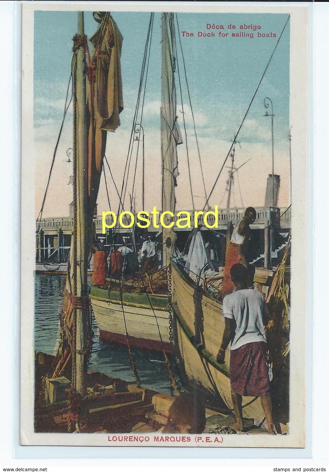 LOURENCO MARQUES , MOZAMBIQUE. OLD POSTCARD C.1920  #689. - Mozambique