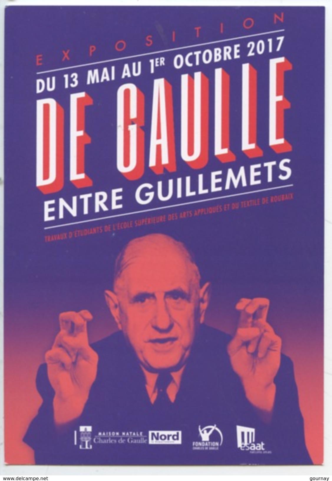 """De Gaulle """"entre Guillemets"""" Travaux étudiants Arts Appliqués Textile Roubaix - Expo - Politicians & Soldiers"""