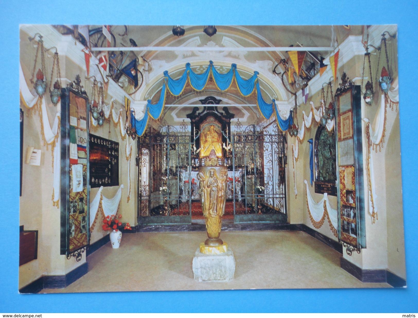Ghisallo - Magreglio - Como - Santuario Della Madonna Del Ghisallo Protettrice Dei Ciclisti - Interno - Como